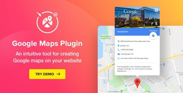 WP Google Maps v2.3.0 – WordPress地图插件