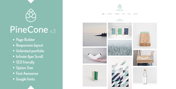 PineCone v3.4.2 – Creative Portfolio and Blog for Agenc