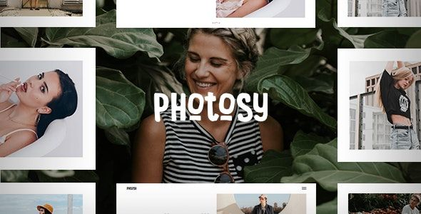 Photosy v1.6 - 摄影WordPress主题