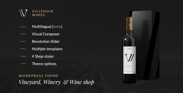 Villenoir v2.7 – Vineyard, Winery & Wine Shop