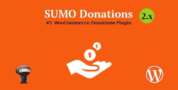 SUMO WooCommerce Donations v3.0 – 捐赠插件