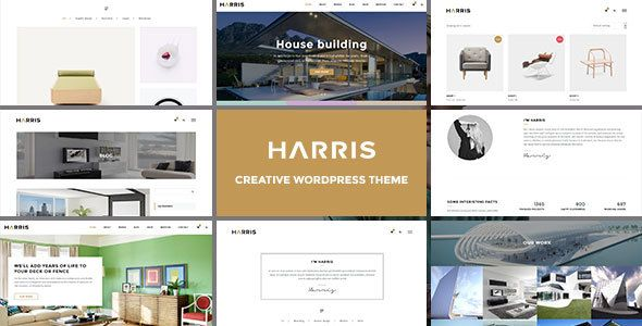 Harris – Creative WordPress Theme