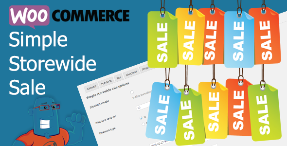 WooCommerce Simple Storewide Sale v1.1.1