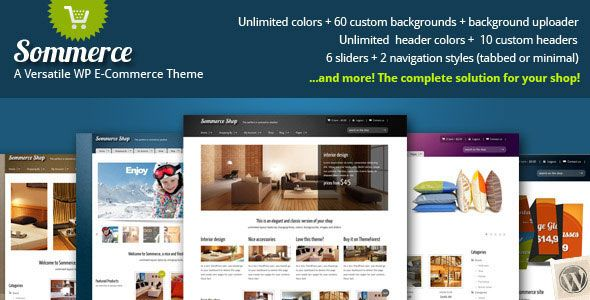 Sommerce Shop v3.0.8 – A Versatile E-commerce Theme