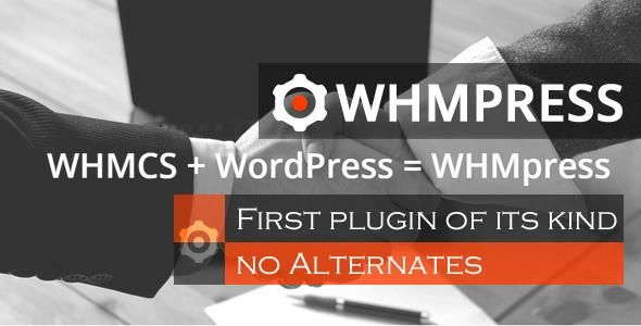 WHMpress v5.4 - WHMCS WordPress集成插件