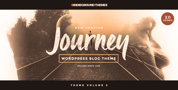 Journey v2.0.1 – Personal WordPress Blog Theme