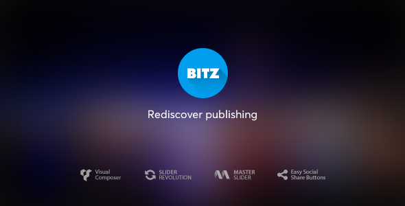 Bitz v1.2.1 – News & Publishing Theme