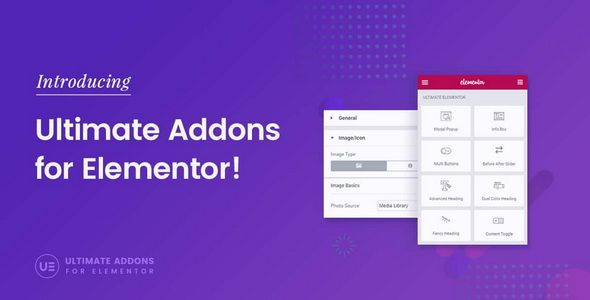 Ultimate Addons for Elementor v1.24.2 – 终极插件组件