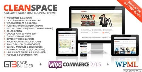 CleanSpace v2.7.3 – Retina Ready Business WP Theme