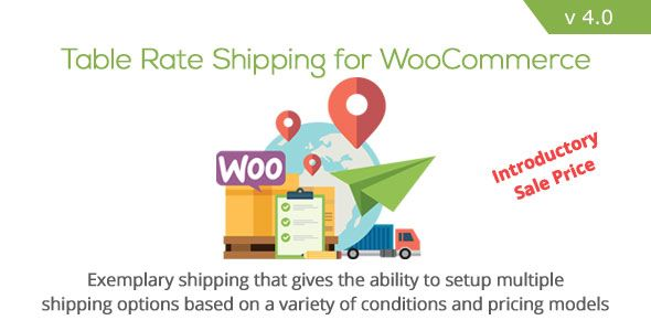 Table Rate Shipping for WooCommerce v4.0.2
