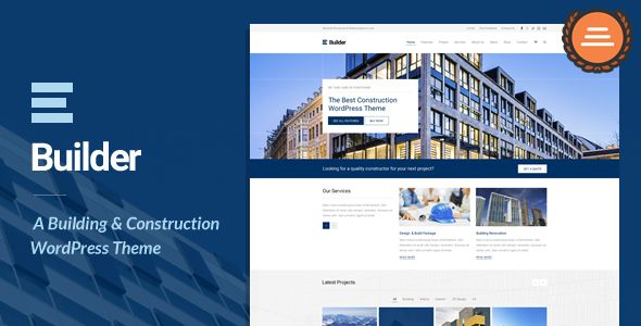 Builder v1.2 – Building & Construction WordPress Theme