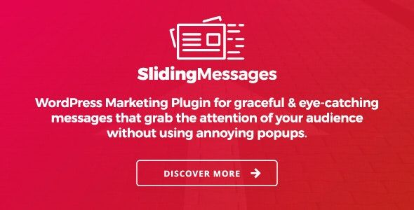 Sliding Messages v3.4 – WordPress营销插件
