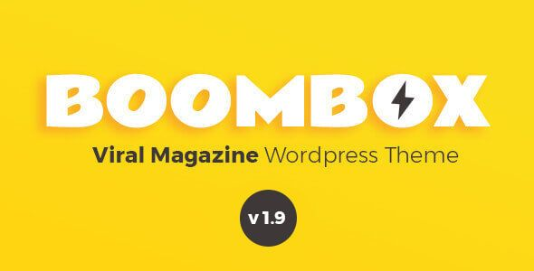 BoomBox v1.9.0.1 - Viral Magazine WordPress Theme