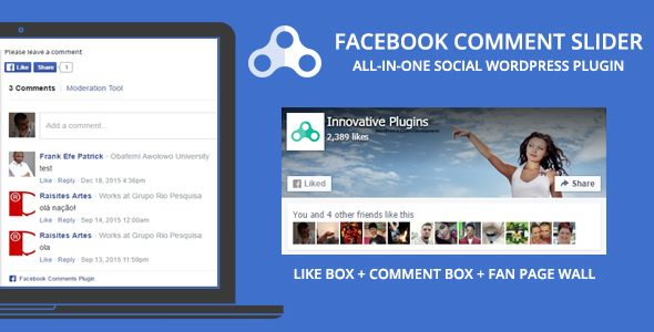 Facebook Comment Slider for WordPress v1.8.5