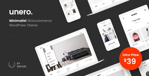 Unero v1.0.1 – Minimalist AJAX WooCommerce WordPress Theme