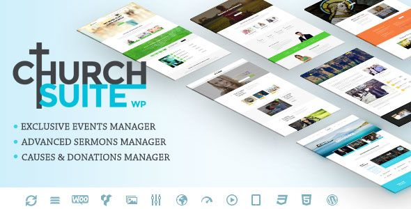 Church Suite v2.2.0 – Responsive WordPress Theme