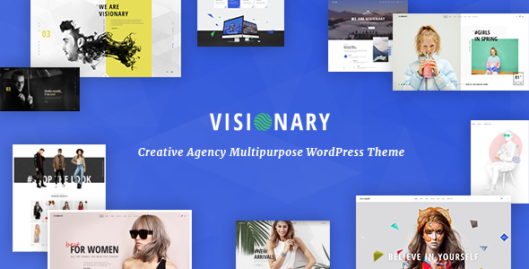 Visionary v1.4.0.1 – Creative Agency Multipurpose WordPress Theme