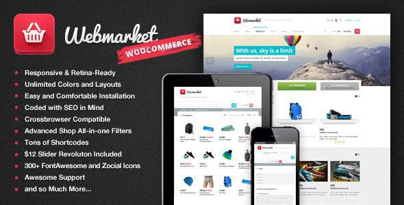 Webmarket 2.5.1 – WP Theme for Advanced Online Shops