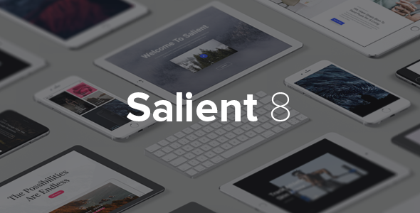 Salient v8.0.15 – Responsive Multi-Purpose Theme