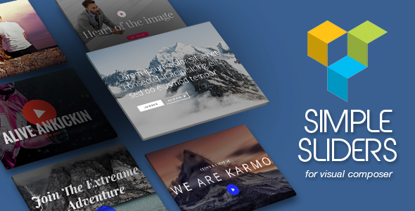 Simple Sliders Addons for Visual Composer
