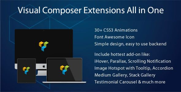 Visual Composer Extensions All In One v3.4.9