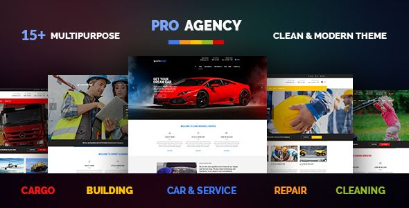 Pro Agency v1.3.3 – Multipurpose WordPress Theme