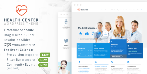 Health Medical Center v18 – Responsive Theme