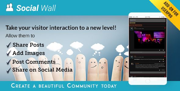 Social Wall Addon for UserPro v3.9