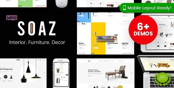 Soaz v1.0.7 – 家具店WordPress WooCommerce主题