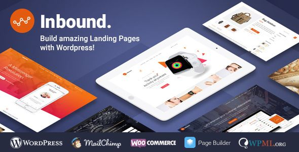 Inbound v1.2.15 – WordPress Landing Page Theme