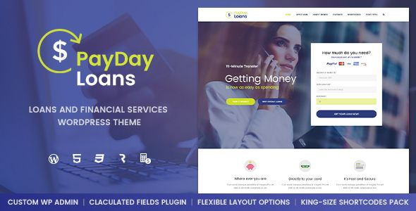 Payday Loans v1.0.3 – Banking, Loan Business and Finance