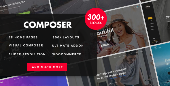 Composer v2.9 – Responsive High-Performance Theme