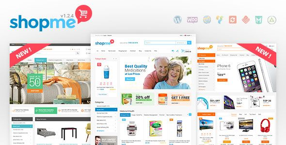 ShopMe v1.3.1 – Woocommerce WordPress Theme