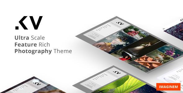 Kreativa v1.0 – Photography Theme for WordPress
