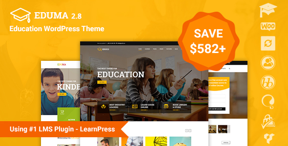 Education WP v2.8.3.1 – Education WordPress Theme