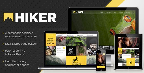 Hiker v2.4.24 – WordPress Photography Theme