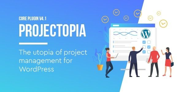 Projectopia v4.3.8 – WordPress项目管理插件