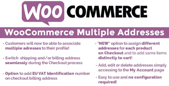 WooCommerce Multiple Customer Addresses v7.9