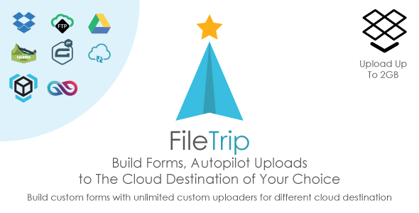 Filetrip v2.0.7 – Easily upload to Dropbox + Google Drive + FTP