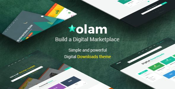 Olam v3.3 – WordPress Easy Digital Downloads Theme