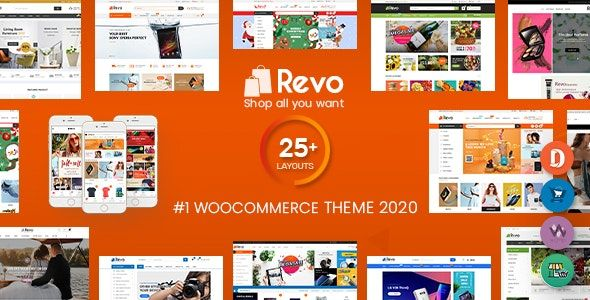 Revo v3.6.4 – 多功能WooCommerce WordPress主题