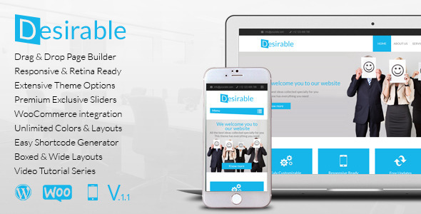 Desirable v1.1.4 – Responsive Multi-Purpose Business Theme