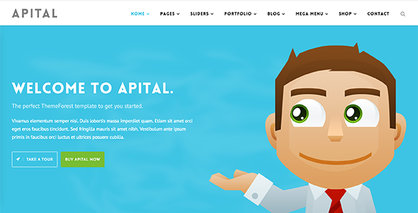 Apital v1.1 – Corporate Business WordPress Theme