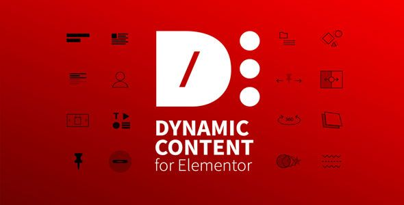 Dynamic Content for Elementor v1.8.14 – 动态内容扩展