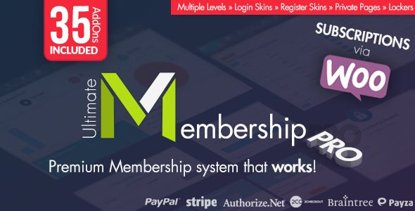 Ultimate Membership Pro WordPress Plugin v5.2