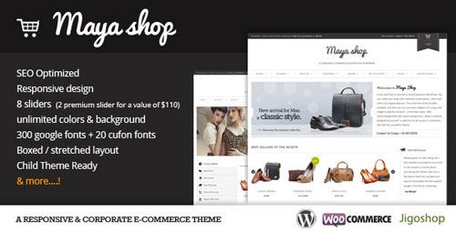 MayaShop v3.1.0 – A Flexible Responsive e-Commerce Theme