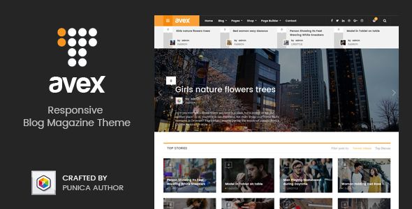 Avex v1.0.9 - WordPress Magazine Theme