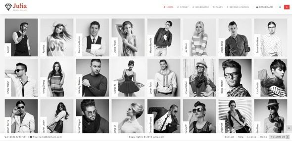 Julia v1.5.1 – Talent Management WordPress Theme