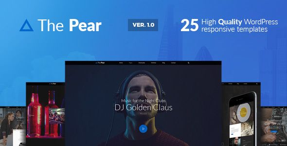 Pear – Responsive Multi-Purpose WordPress Theme