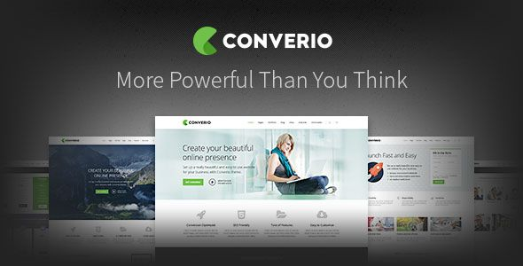 Converio v1.0.30 – Responsive Multi-Purpose WordPress Theme